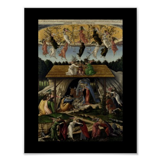 Mystical Nativity Poster