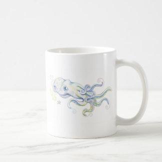Mystical Octopus Basic White Mug