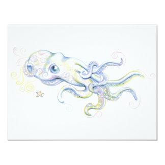 Mystical Octopus Card