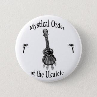 Mystical Order of the Ukulele 6 Cm Round Badge