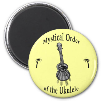 Mystical Order of the Ukulele 6 Cm Round Magnet