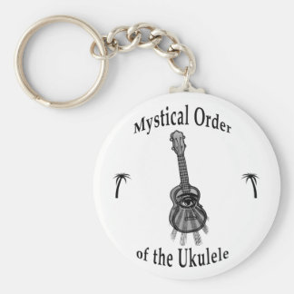 Mystical Order of the Ukulele Key Ring
