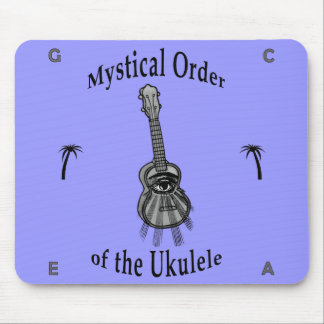Mystical Order of the Ukulele Mouse Pad