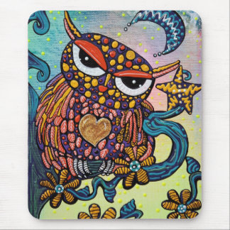 Mystical Owl Mouse Pad