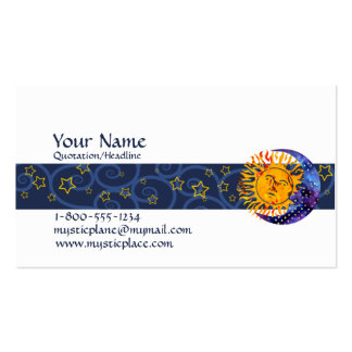 Mystical Pack Of Standard Business Cards