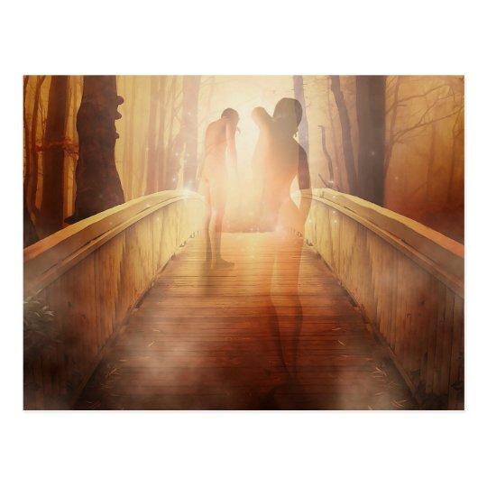 Mystical Pathway Postcard