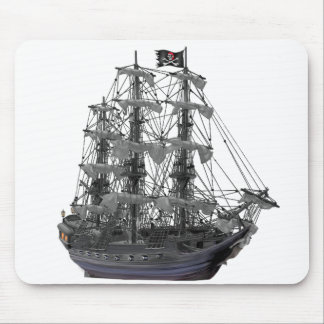 Mystical Pirate Ship Mouse Mat