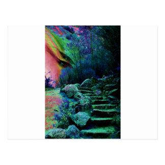 Mystical Postcard