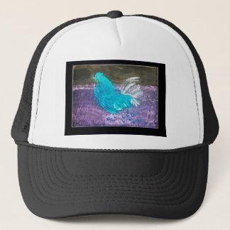 Mystical Rooster Chicken Trucker Hat