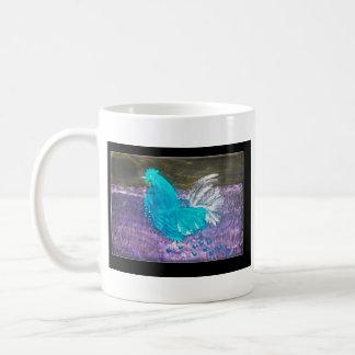 Mystical Rooster Basic White Mug