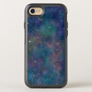 Mystical Space Pattern Night Sky Stars Astronomy OtterBox Symmetry iPhone 7 Case