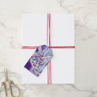 Mystical Unicorn in the Snow Gift Tags