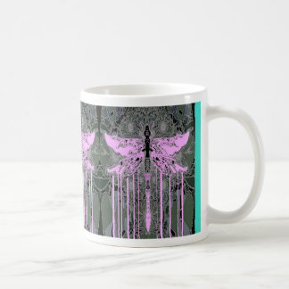 Mystical Violet Dragonflies by Sharles Mug