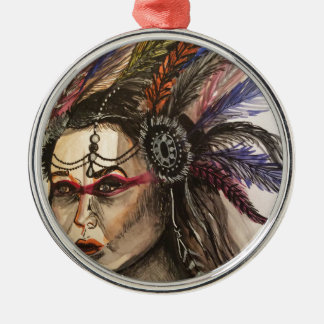 Mystical Woman Christmas Ornament