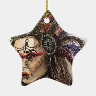Mystical Woman Christmas Ornament