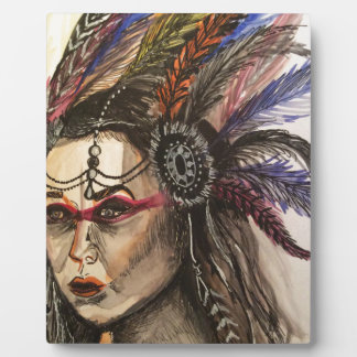 Mystical Woman Plaque