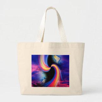 Mystical world  3 jumbo tote bag