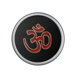 Mystical Yin-Yang OM Mandala Bluetooth Speaker