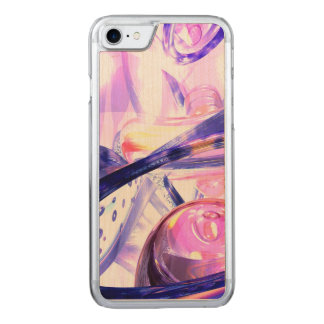 Mystically Phenomenal Abstract Carved iPhone 7 Case