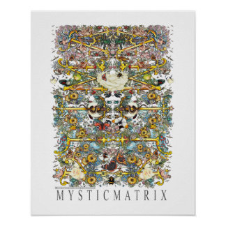 "MYSTICMATRIX ""Amity"" Poster Matte"