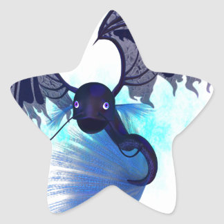 Mystikoi_black.png Star Sticker