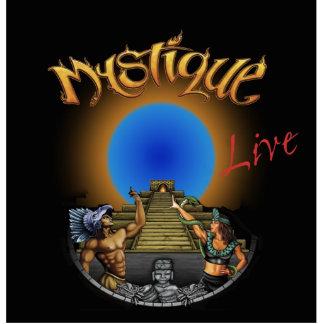 Mystique Band Logo Cutout Standing Photo Sculpture