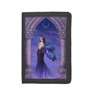 Mystique Galaxy Wing Fairy TriFold Wallet
