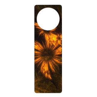 Mystique Garden Abstract Art Door Knob Hanger