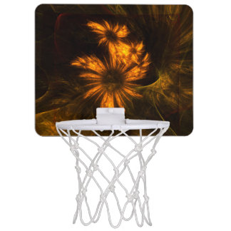 Mystique Garden Abstract Art Mini Basketball Hoop