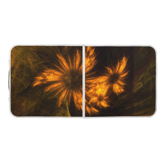 Mystique Garden Abstract Art Pong Table