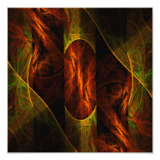 Mystique Jungle Abstract Art Photo Print
