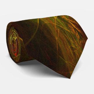 Mystique Jungle Abstract Art Tie