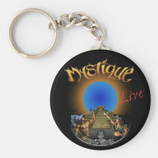 Mystique Logo Key Chain