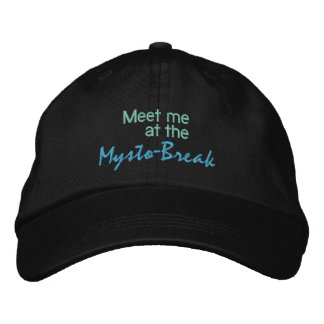 MYSTO-BREAK cap Embroidered Baseball Cap