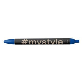 mystyle pin black ink pen