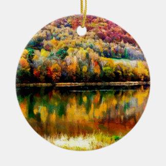myszkowieckie lake christmas ornament