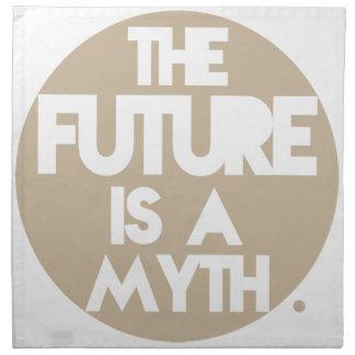 Myth (Brown) Printed Napkin