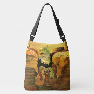Myth Series 1 Griffin Earth Crossbody Bag