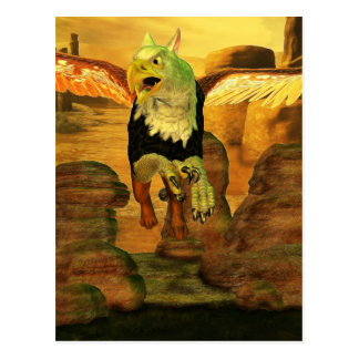 Myth Series 1 Griffin Earth Postcard