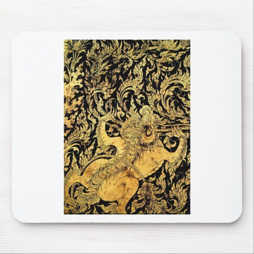 Mythic creatures of Thailand Mousepads