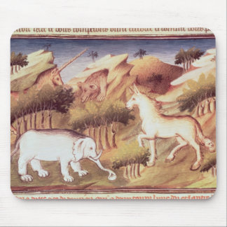 Mythical animals in the wilderness mouse pads