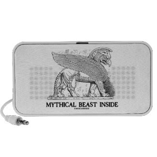 Mythical Beast Inside (Griffin / Gryphon) Travelling Speakers
