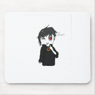 Mythical Creature Collection: I Is a Vampire Mouse Pad