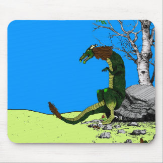 Mythical Dragon Mouse Pad