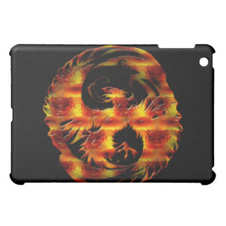 Mythical Flaming Phoenix iPad Cover