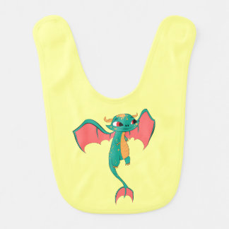 Mythical Flying Dragon Bib