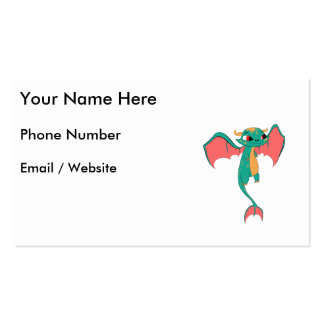 Mythical Flying Dragon Pack Of Standard Business Cards