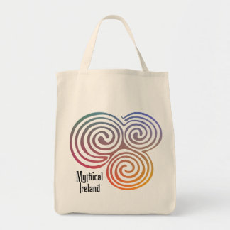 Mythical Ireland organic tote Bags