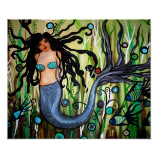 MYTHICAL MERMAID POSTER