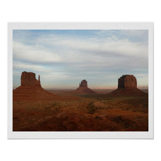 Mythical Monument Valley Print